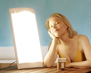 Simple depression light therapy